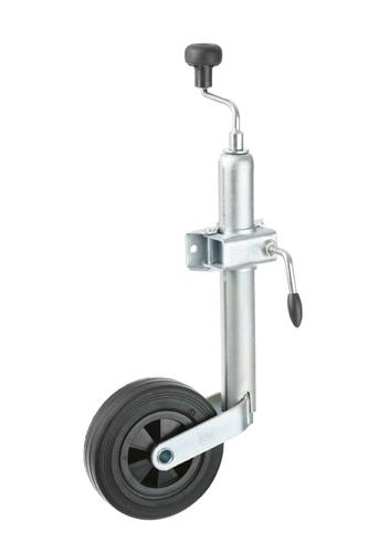 biltema stödhjul montering